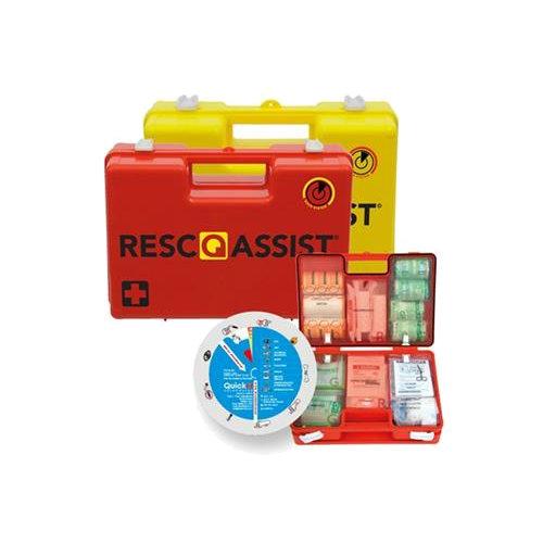 Meer zelfvertrouwen in geval van calamiteiten met de Resc-Q-assist EHBO koffer