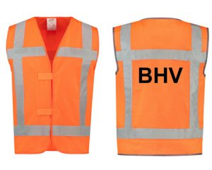 Veiligheidshesjes oranje
