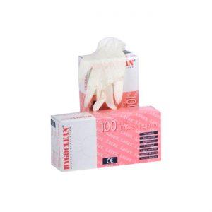 Latex Handschoenen Gepoederd (maat L) 100 Stuks