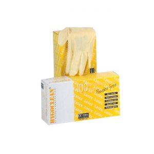 Latex Handschoenen Ongepoederd (maat M) 100 Stuks