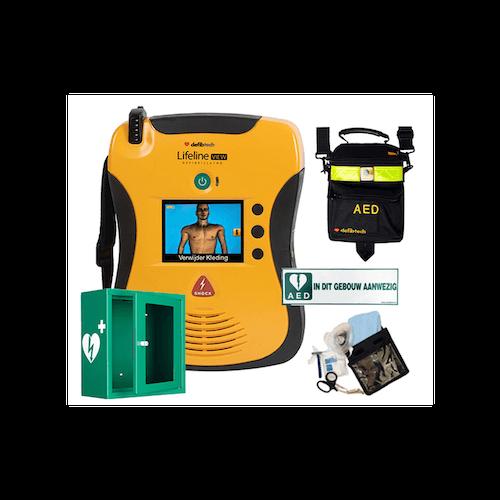 AED Defibtech Lifeline Pakket View voor reanimatie