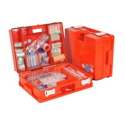 Verbandkoffer met de juiste EHBO materialen voor HACCP
